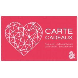 Carte cadeau électronique - Coeur n°1