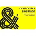 carte cadeau électronique jaune