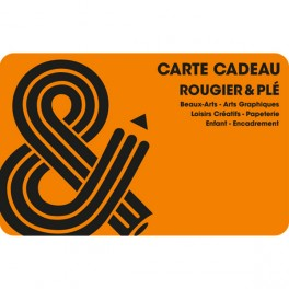 carte cadeau orange